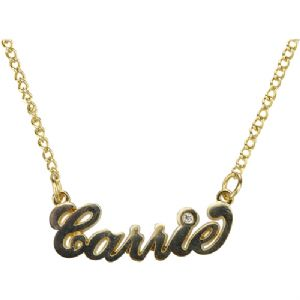 SEX AND THE CITY LOVE CARRIE NECKLACE